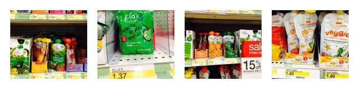 target 15 off organic baby food