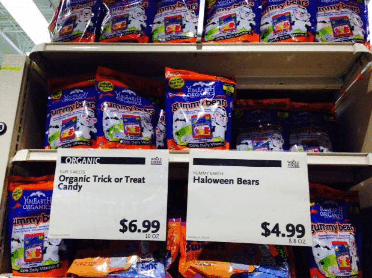 whole foods halloween candy