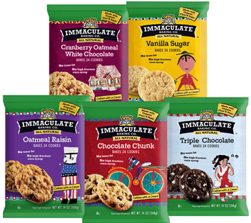 immaculate baking cookie dough target