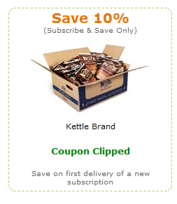 kettle chips amazon coupon