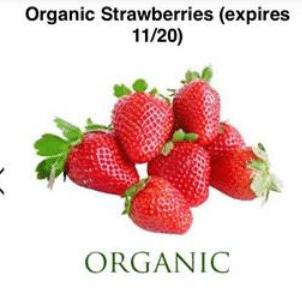 berry cart strawberries