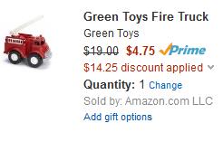 green toys 75 discount amazon