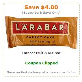 larabar amazon coupons