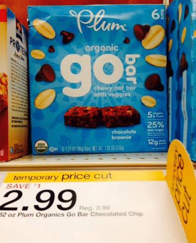 plum organics go bar target