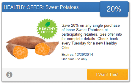 savingstar sweet potatoes