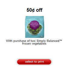 target vegetable coupon