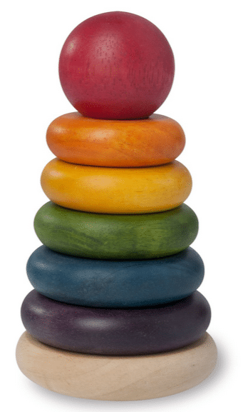 wooden stacking toy amazon