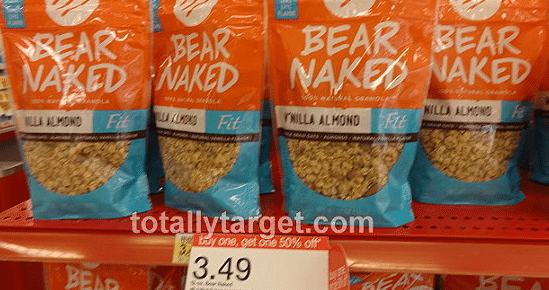 bear naked target deal