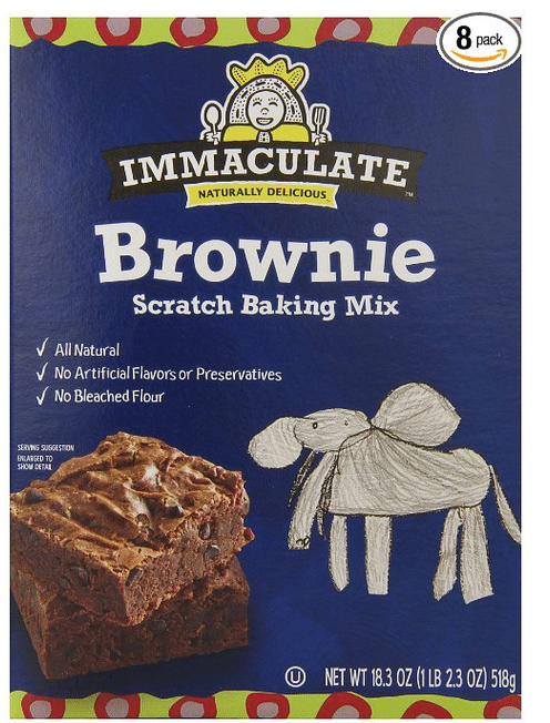 immaculate brownie amazon