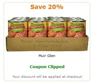 muir glen amazon coupon
