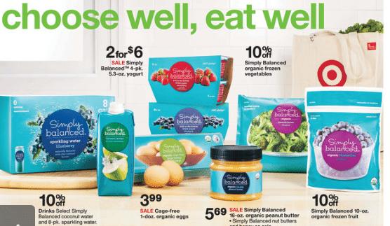 target organic coupon matchups 118