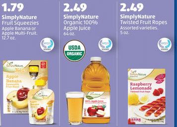 aldi organic deals 215