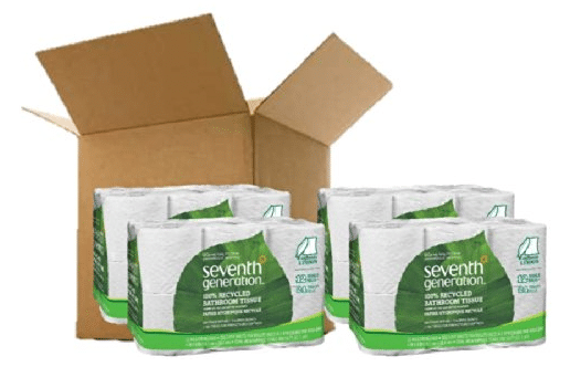 toilet paper cheaper on amazon As a city dweller, i'm a big fan of soapcom, which i use to buy things like toilet paper, paper towel, laundry detergent, and other household items that are difficult to carry home from the store.