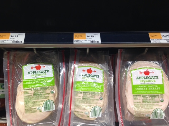 organic lunch meat