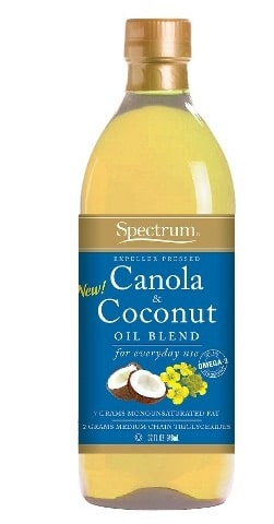 spectrum coconut and canola blend