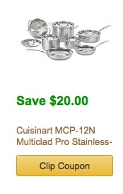 stainless steel amazon coupon