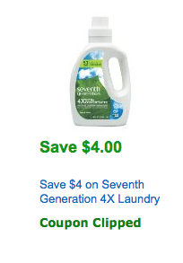 seventh generation coupon amazon