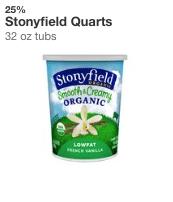 stonyfield yogurt target coupon