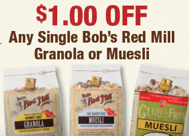bobs red mill coupon