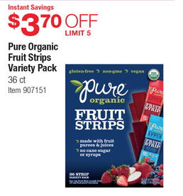 costco organic coupon
