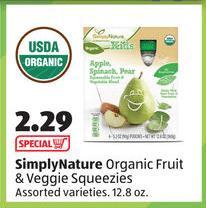 new aldi organic product