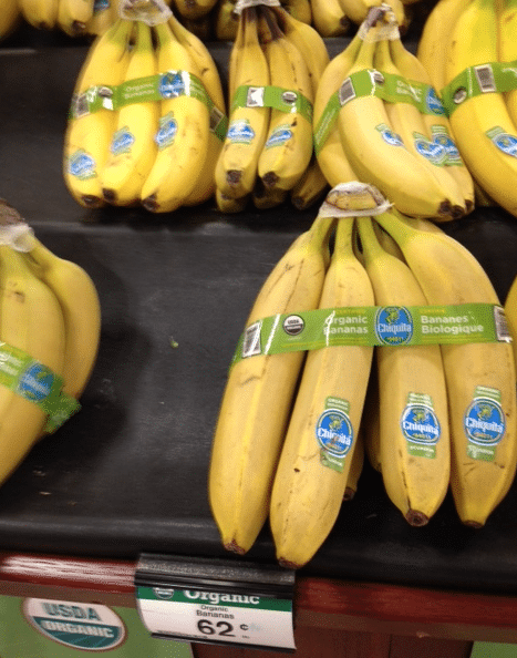 organic bananas kroger