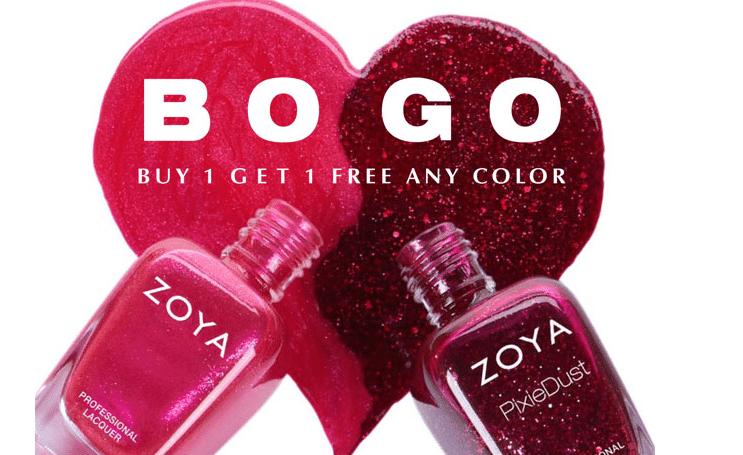 Zoya Non-Toxic Nail Polish BOGO Sale – All Natural Savings
