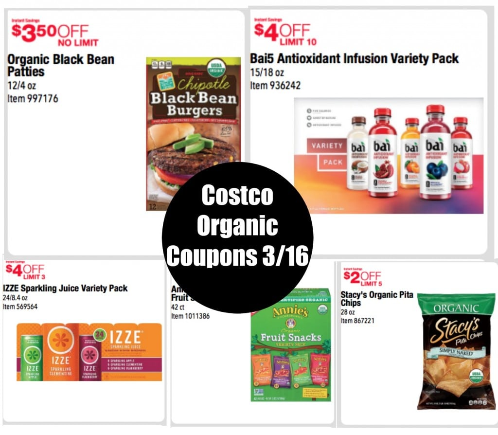 costco organic coupons march 2016