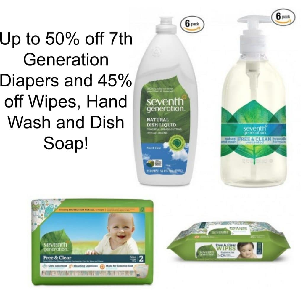 Costco Print Sizes >> Amazon: Up to 50% off Seventh Generation Diapers and 45% ...