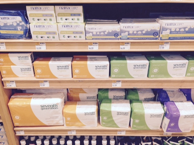 Whole Foods Seventh Generation Pads