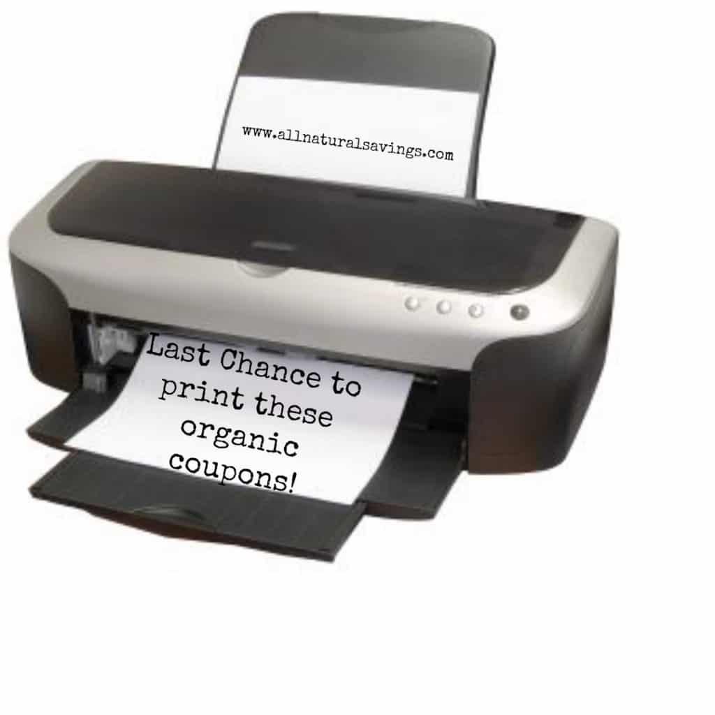 last chance printable organic coupons