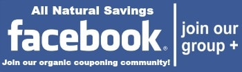 organic couponing on Facebook