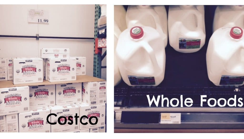 milk prices costco whole foods