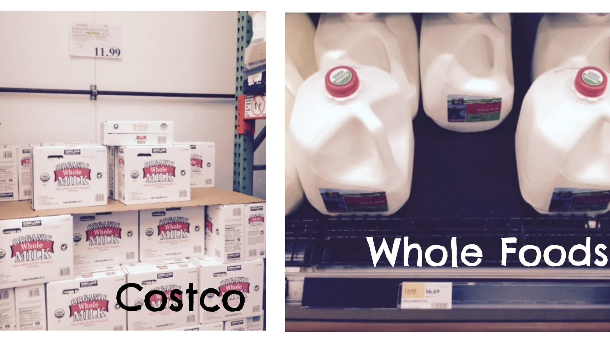 Price Comparison Costco Trader Joe S Food For Less