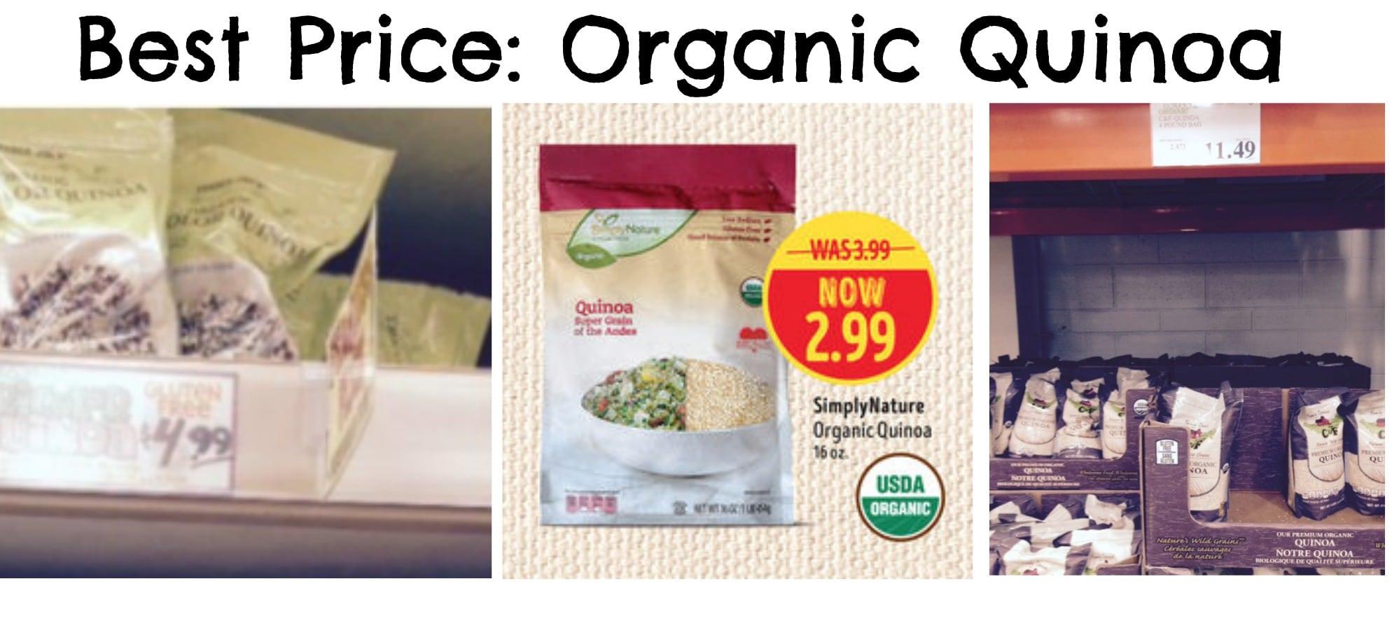 Best price on quinoa