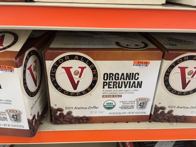 organic coffee big lots