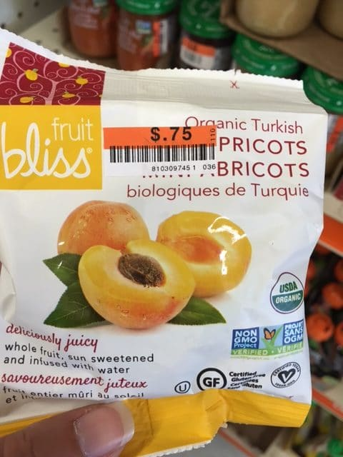 fruit bliss organic fruit snacks big lots