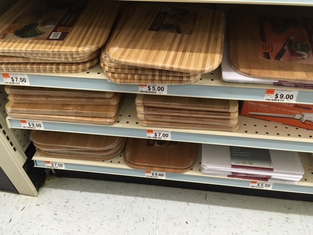 big lots bamboo cutting boards