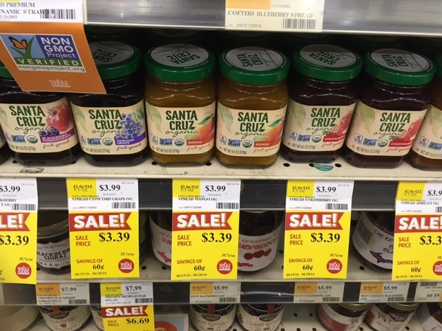 santa cruz fruit spread whole foods