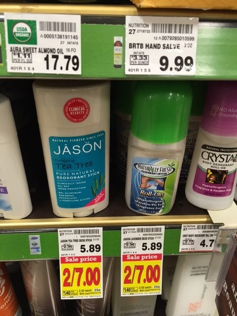 jason deodorant sale coupon