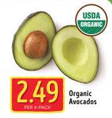 aldi organic avocados