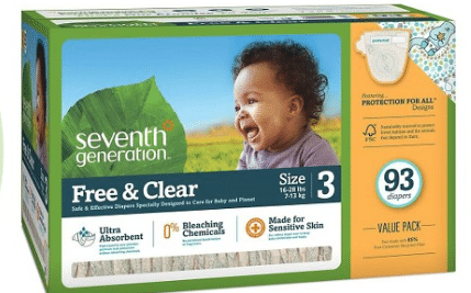 seventh generation diaper sale target