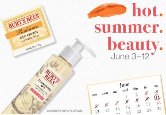 burt's bees target promo coupon code gift card