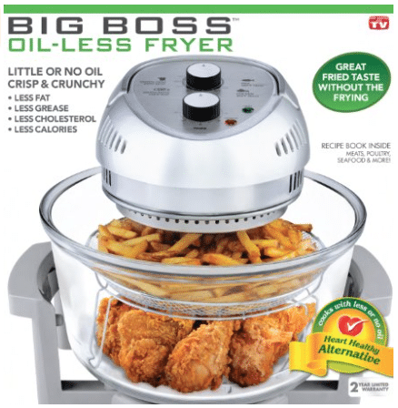 big boss oil-less fryer deal amazon