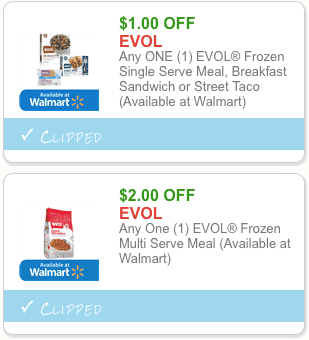 new evol frozen meal coupons