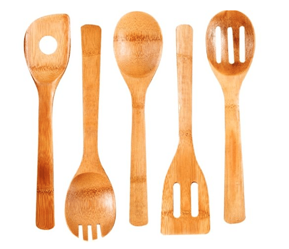 bamboo utensils amazon