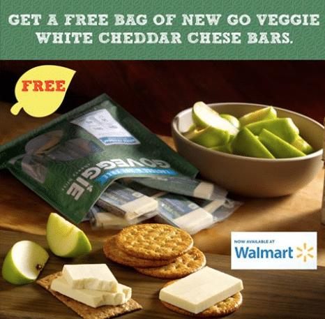 free go veggie cheese bars walmoart