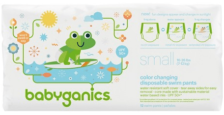 babyganics swim diapers