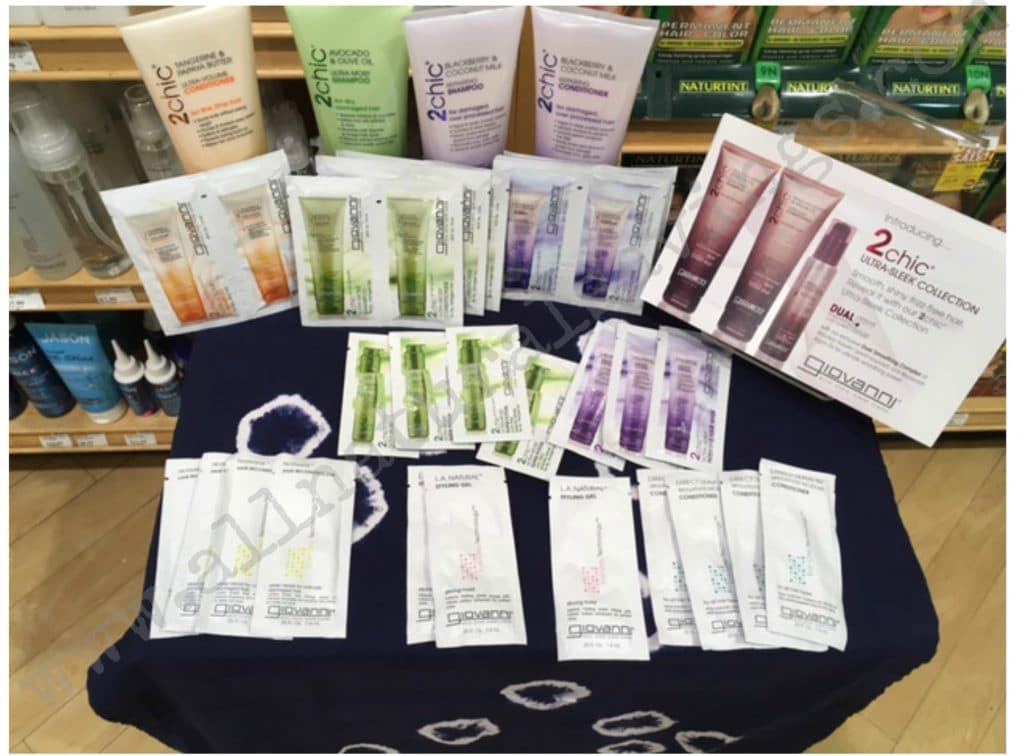 free giovanni organic samples freebies