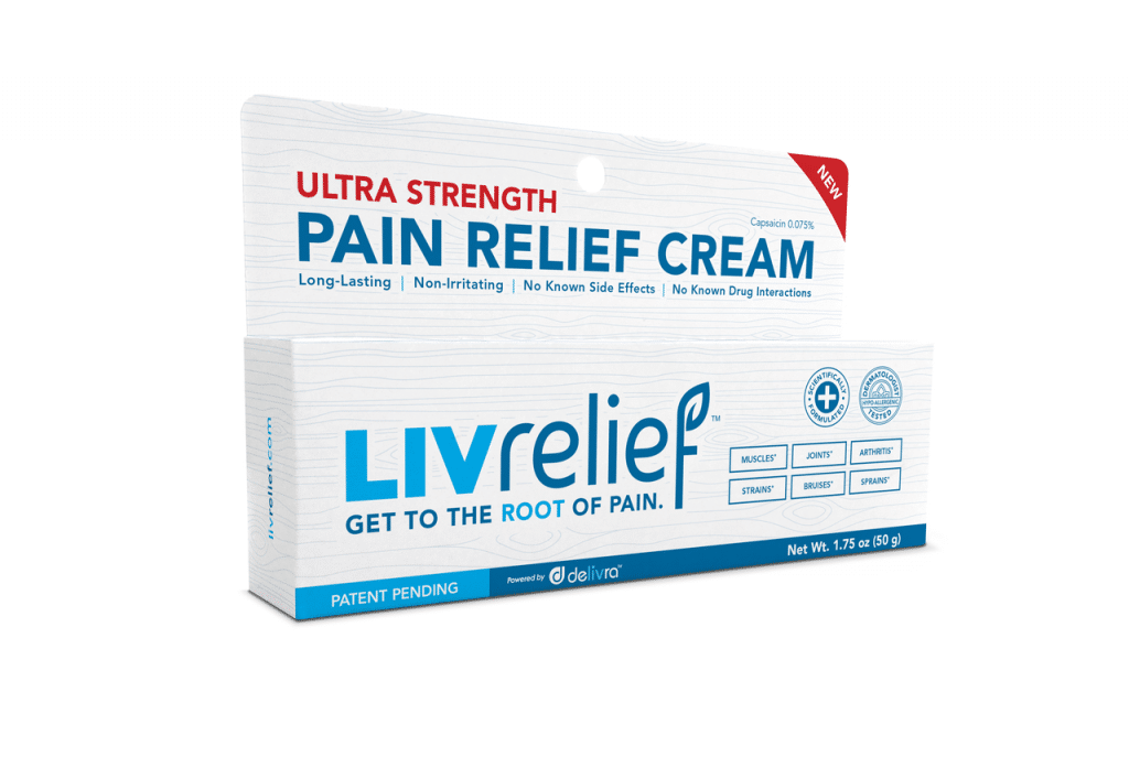 natural pain relief cream